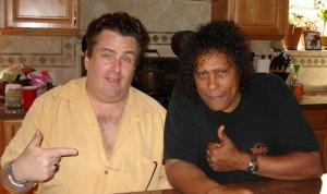 Daniel and John Butcher in 2008